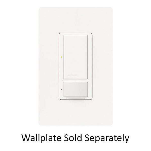 Dimmer Maestro MS-0PS5M-WH  - Passive Infrared (PIR) Occupancy - Lutron