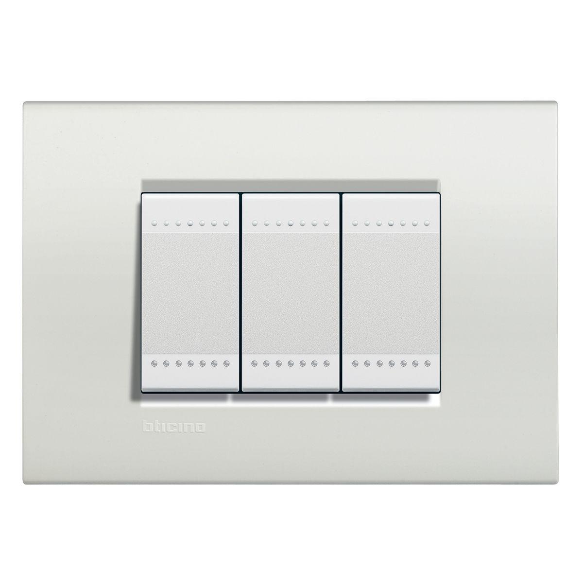 Interruptor bticino livinglight bianco 10 unidades na dimmershop - Interruttori living light ...
