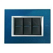 Interruptor Bticino Axolute Blu Meissen - 10 Unidades